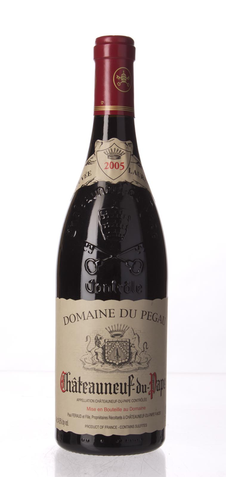 Domaine du Pegau Chateauneuf du Pape Cuvee Laurence 2005, 750mL (WA95-97, ST94, WS96) from The BPW - Merchants of rare and fine wines.