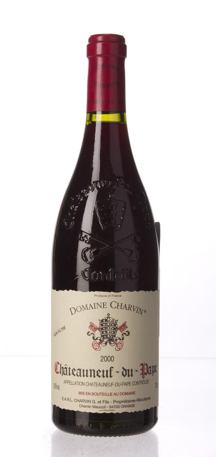 Domaine Gerard Charvin Chateauneuf du Pape 2000, 750mL (WA95) from The BPW - Merchants of rare and fine wines.
