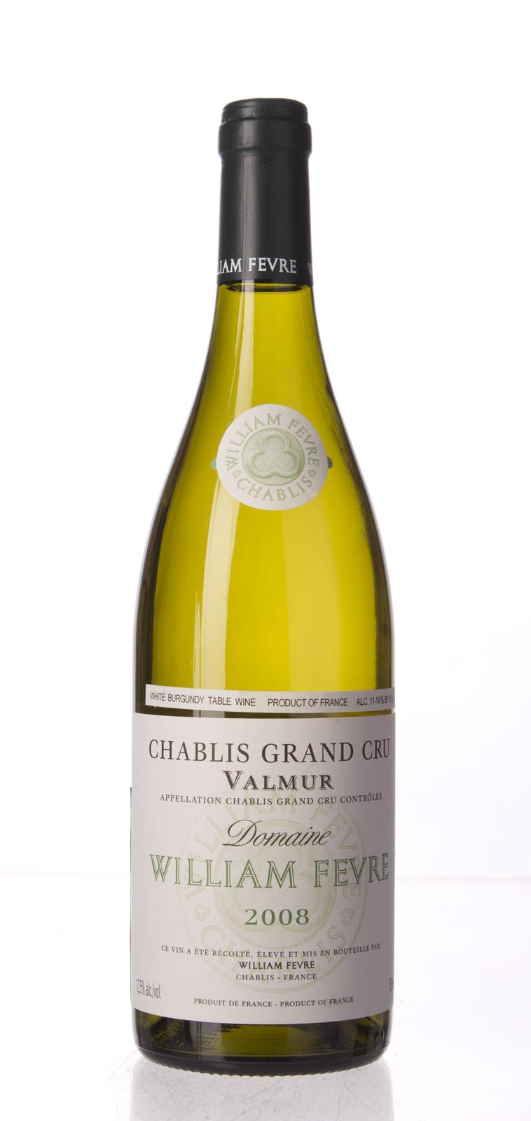 Domaine William Fevre Chablis Valmur 2008,  (BH95, WA94, ST94-97, WS93) from The BPW - Merchants of rare and fine wines.
