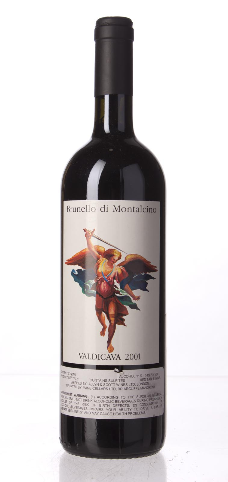 Valdicava Brunello di Montalcino 2001,  (JS98, WS98) from The BPW - Merchants of rare and fine wines.