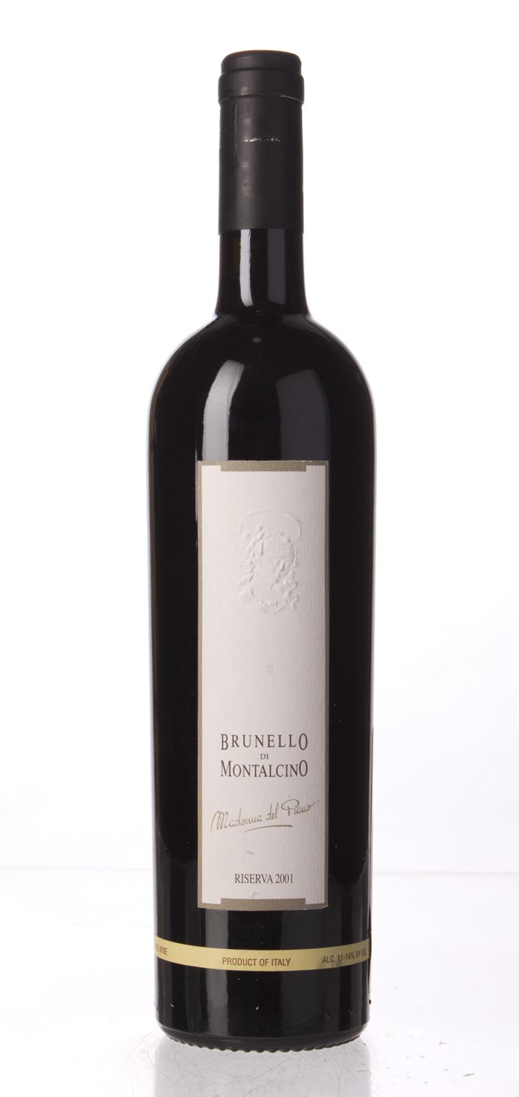 Valdicava Brunello di Montalcino Riserva Madonna del Piano 2001, 750mL (JS100, WS100) from The BPW - Merchants of rare and fine wines.