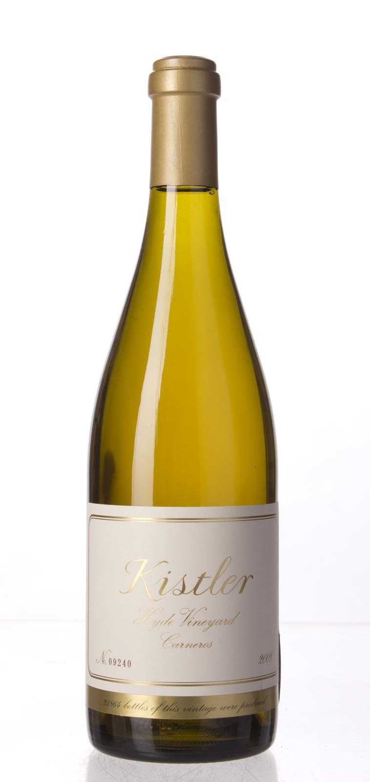 Kistler Chardonnay Hyde Vineyard 2008, 750mL (WA96, ST95) from The BPW - Merchants of rare and fine wines.
