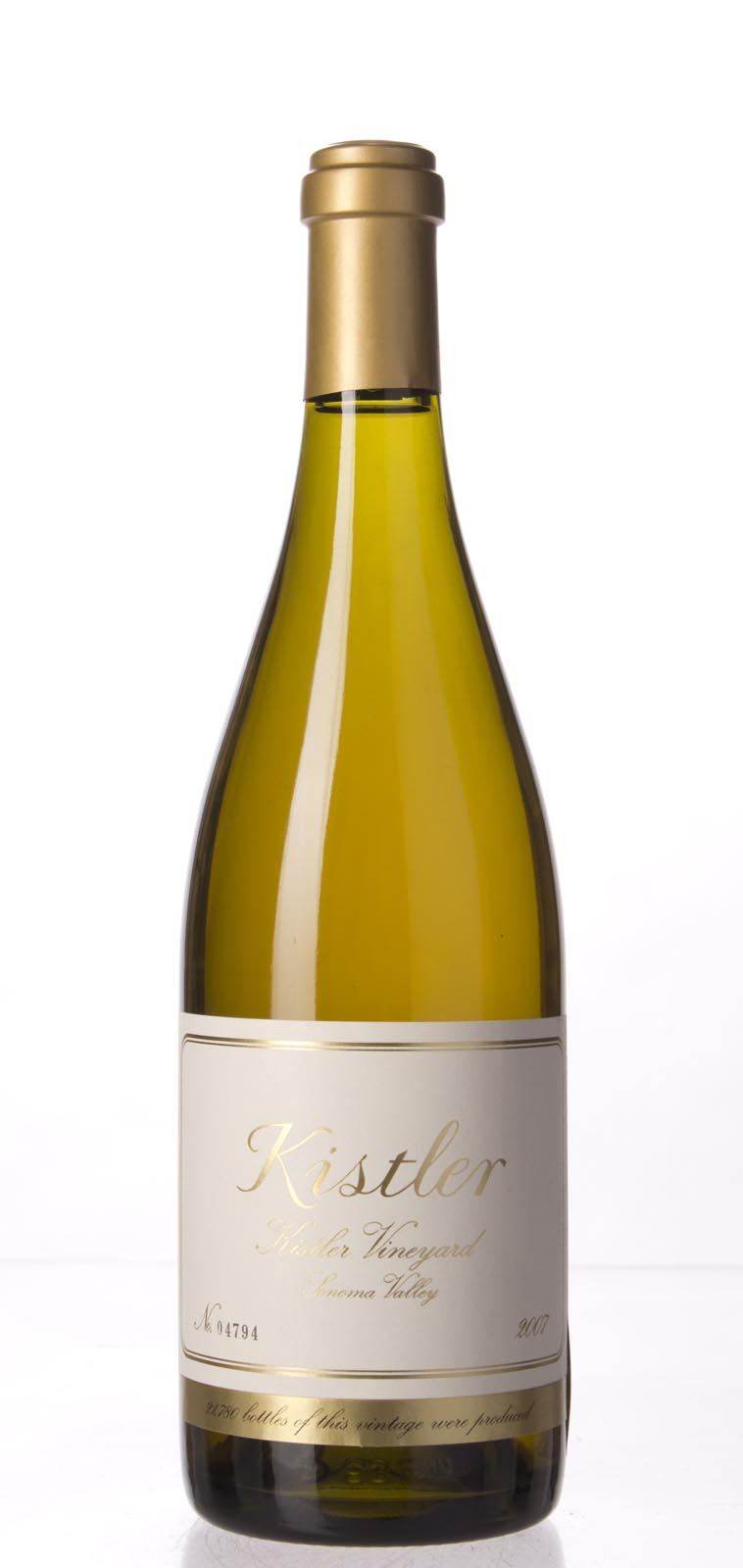 Kistler Chardonnay Kistler Vineyard 2007, 750mL (WA94-96, ST93) from The BPW - Merchants of rare and fine wines.