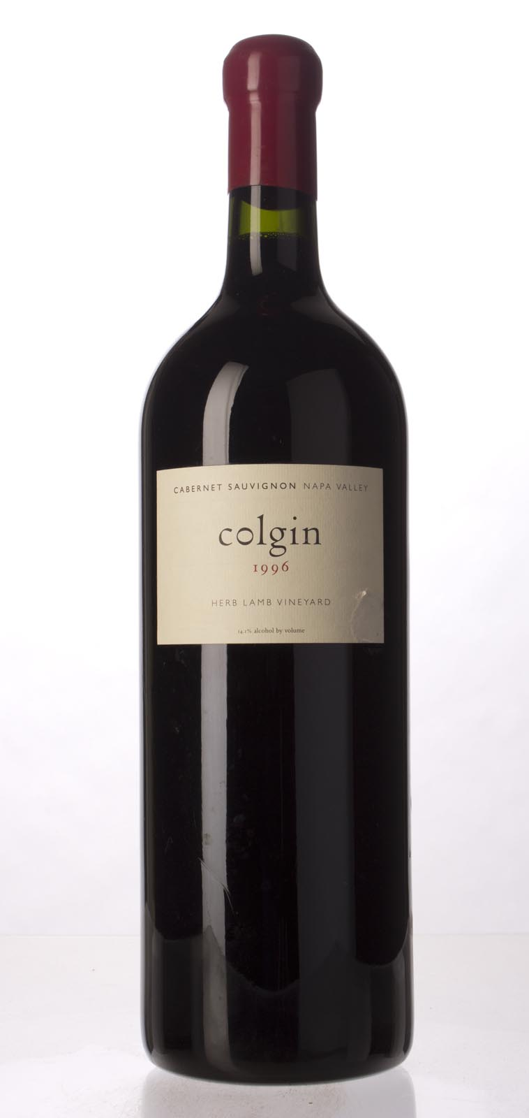Colgin Cabernet Sauvignon Herb Lamb Vineyard 1996, 3L (WA97) from The BPW - Merchants of rare and fine wines.