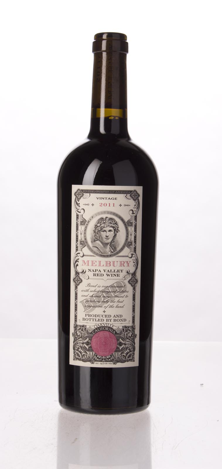 Bond Melbury 2011,  (WA92, VN94, JS93, ST93) from The BPW - Merchants of rare and fine wines.