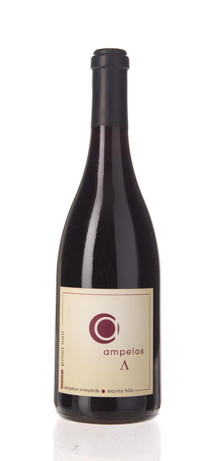 Ampelos Cellars Pinot Noir Lambda 2005, 750mL () from The BPW - Merchants of rare and fine wines.
