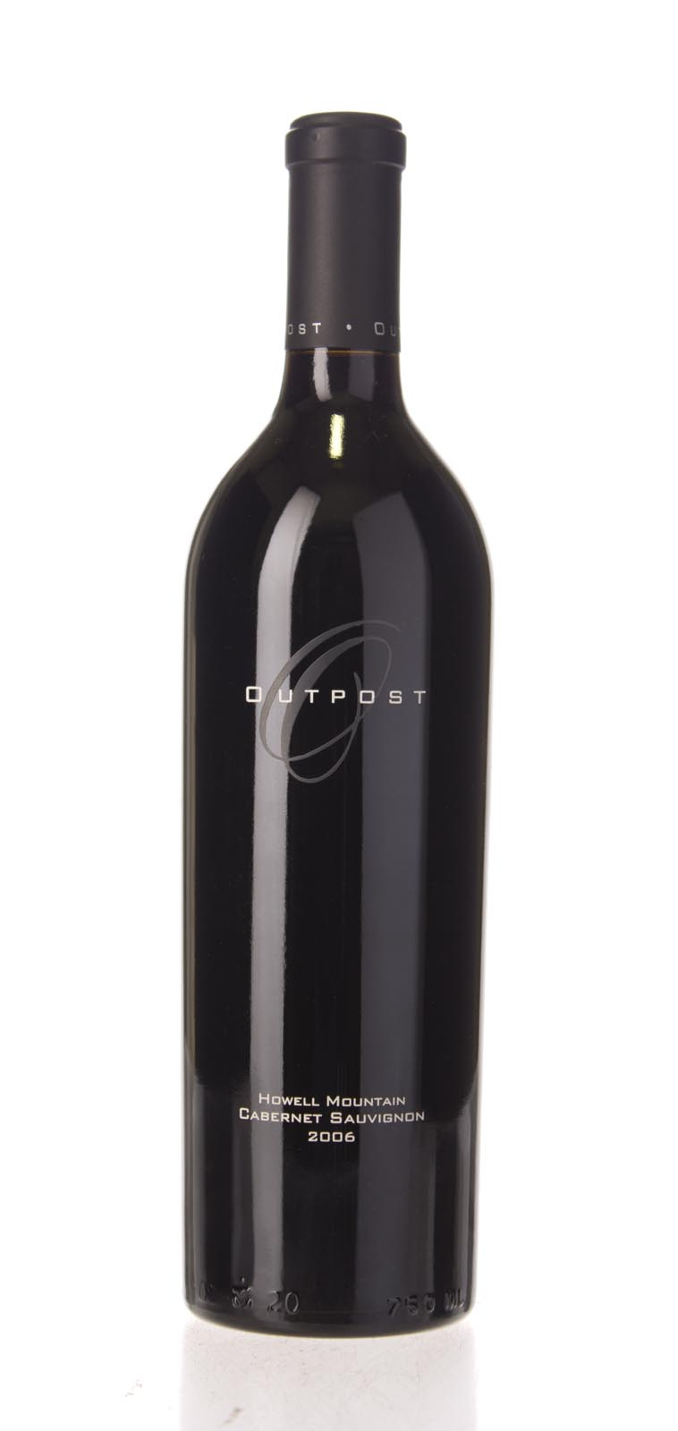 Outpost Cabernet Sauvignon Howell Mountain 2006, 750mL (WA92, ST90+) from The BPW - Merchants of rare and fine wines.