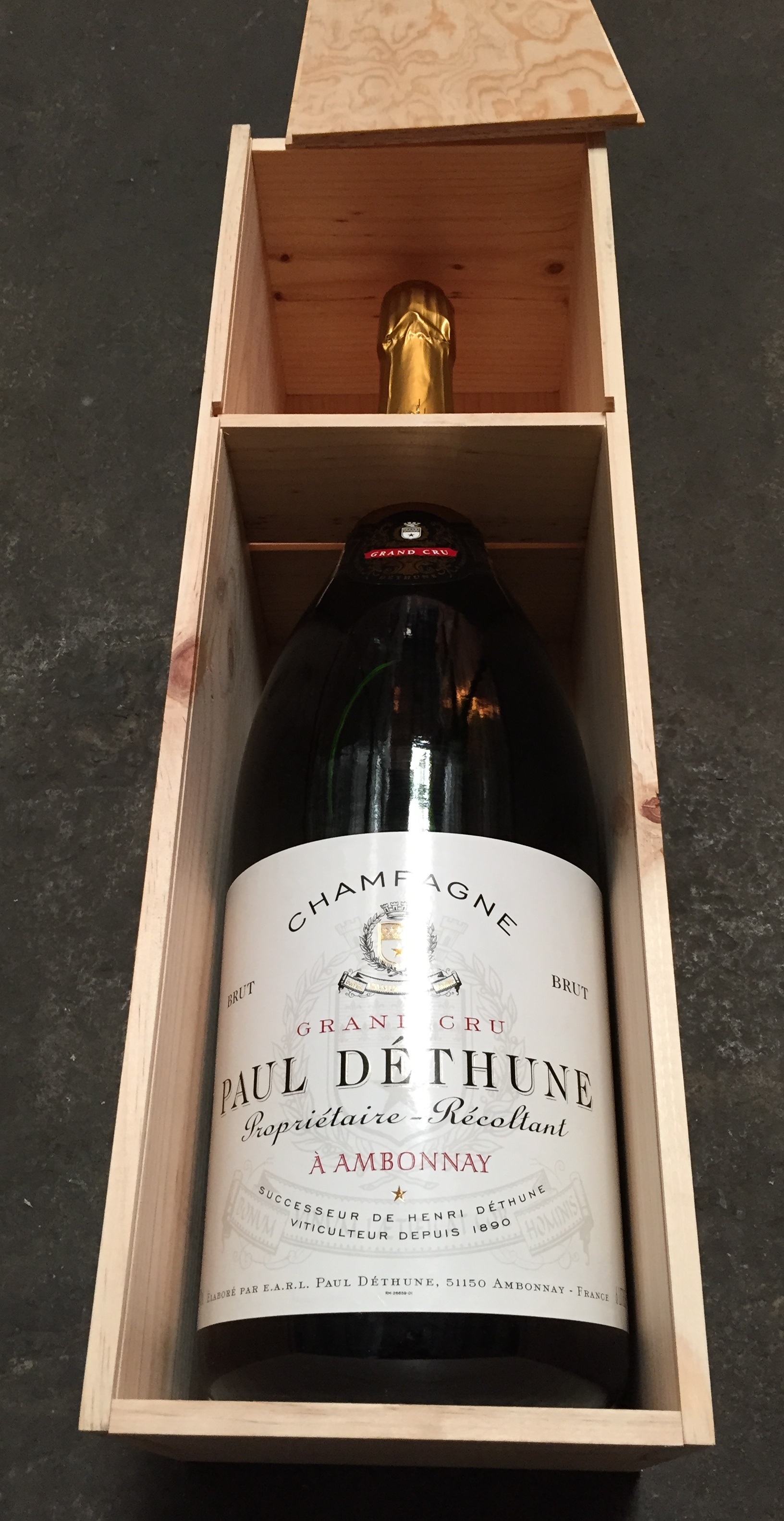 Paul Dethune Brut Grand Cru N.V., 6L () from The BPW - Merchants of rare and fine wines.