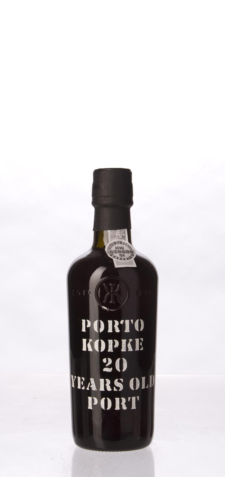Kopke 20 Year Old Tawny Port N.V., 375ml (RH93) from The BPW - Merchants of rare and fine wines.