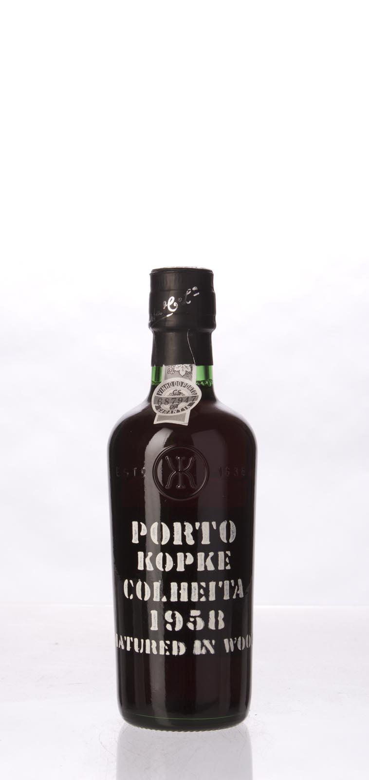 Kopke Colheita Port 1958, 375mL () from The BPW - Merchants of rare and fine wines.