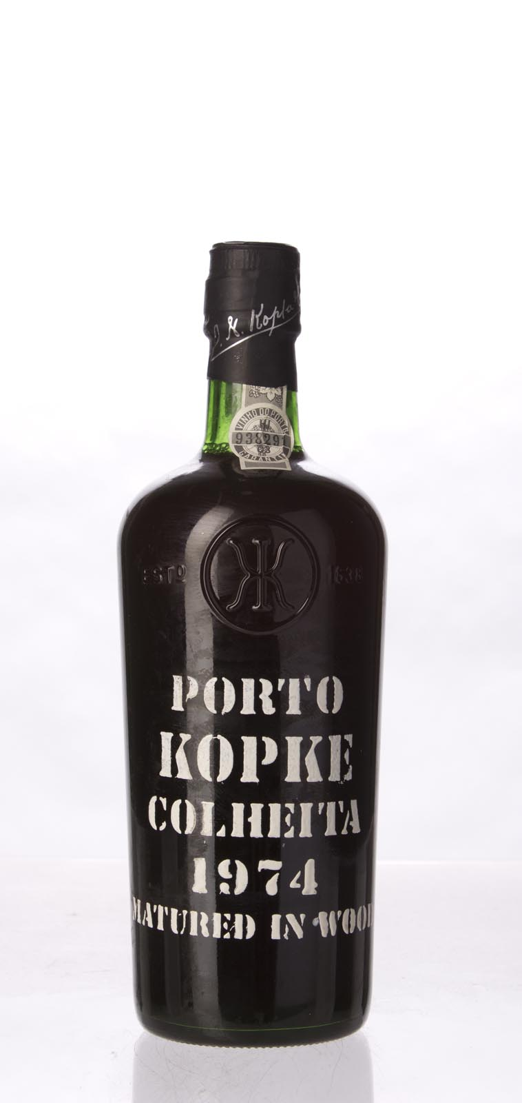 Kopke Colheita Port 1974, 750mL () from The BPW - Merchants of rare and fine wines.