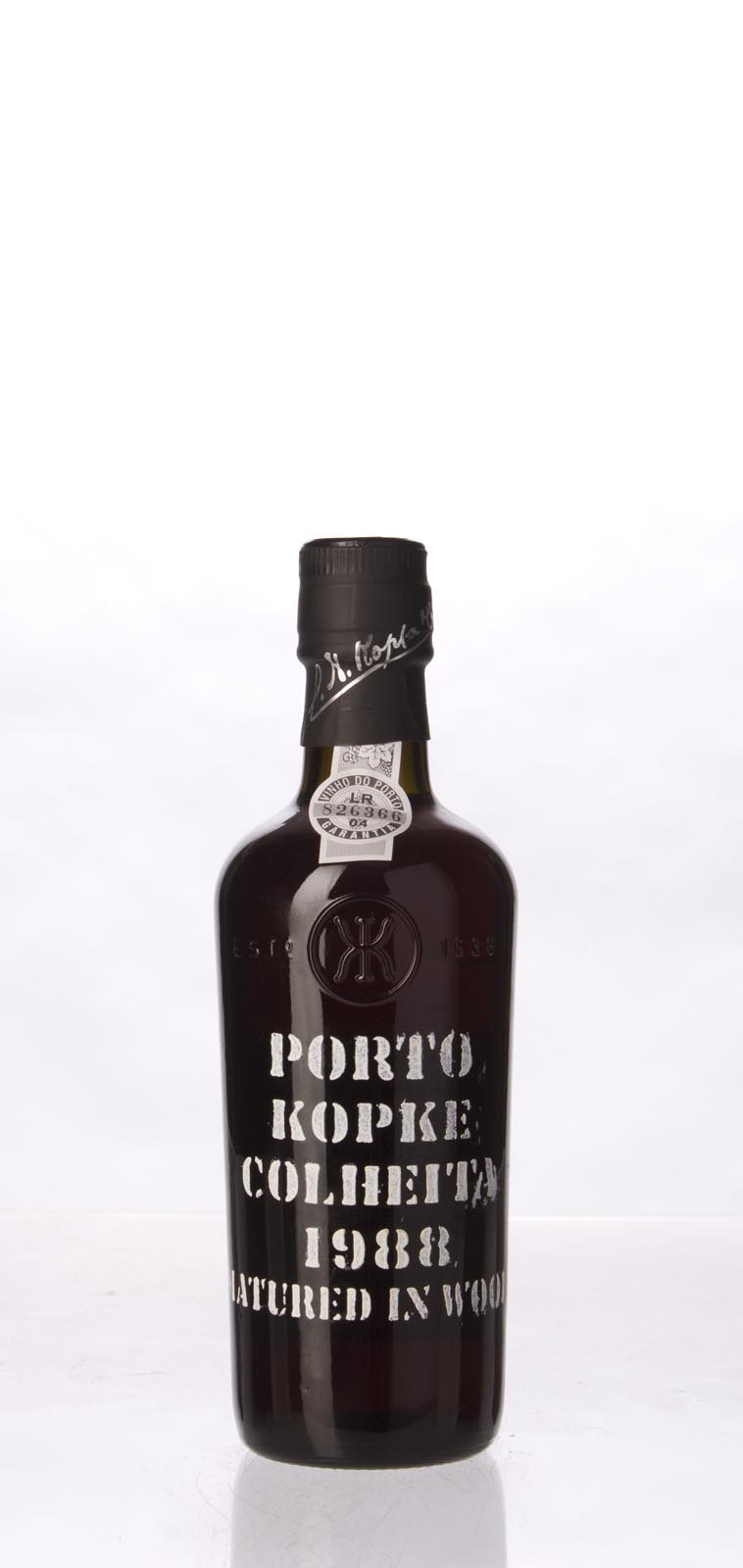Kopke Colheita Port 1988, 375mL () from The BPW - Merchants of rare and fine wines.