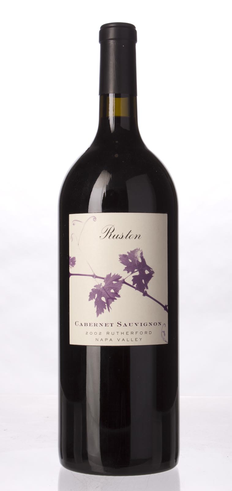 Ruston Family Vineyards Cabernet Sauvignon Rutherford 2002, 1.5L () from The BPW - Merchants of rare and fine wines.