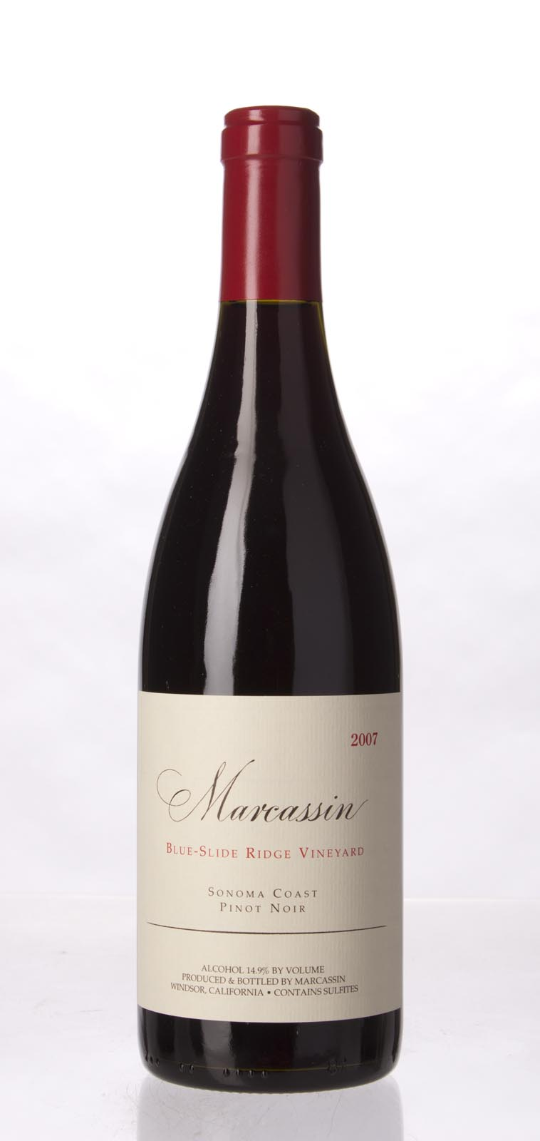 Marcassin Pinot Noir Blue Slide Ridge 2007, 750mL (WA90) from The BPW - Merchants of rare and fine wines.