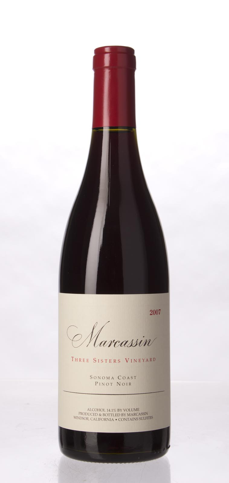 Marcassin Pinot Noir Three Sisters Vineyard 2007, 750mL (WA91) from The BPW - Merchants of rare and fine wines.