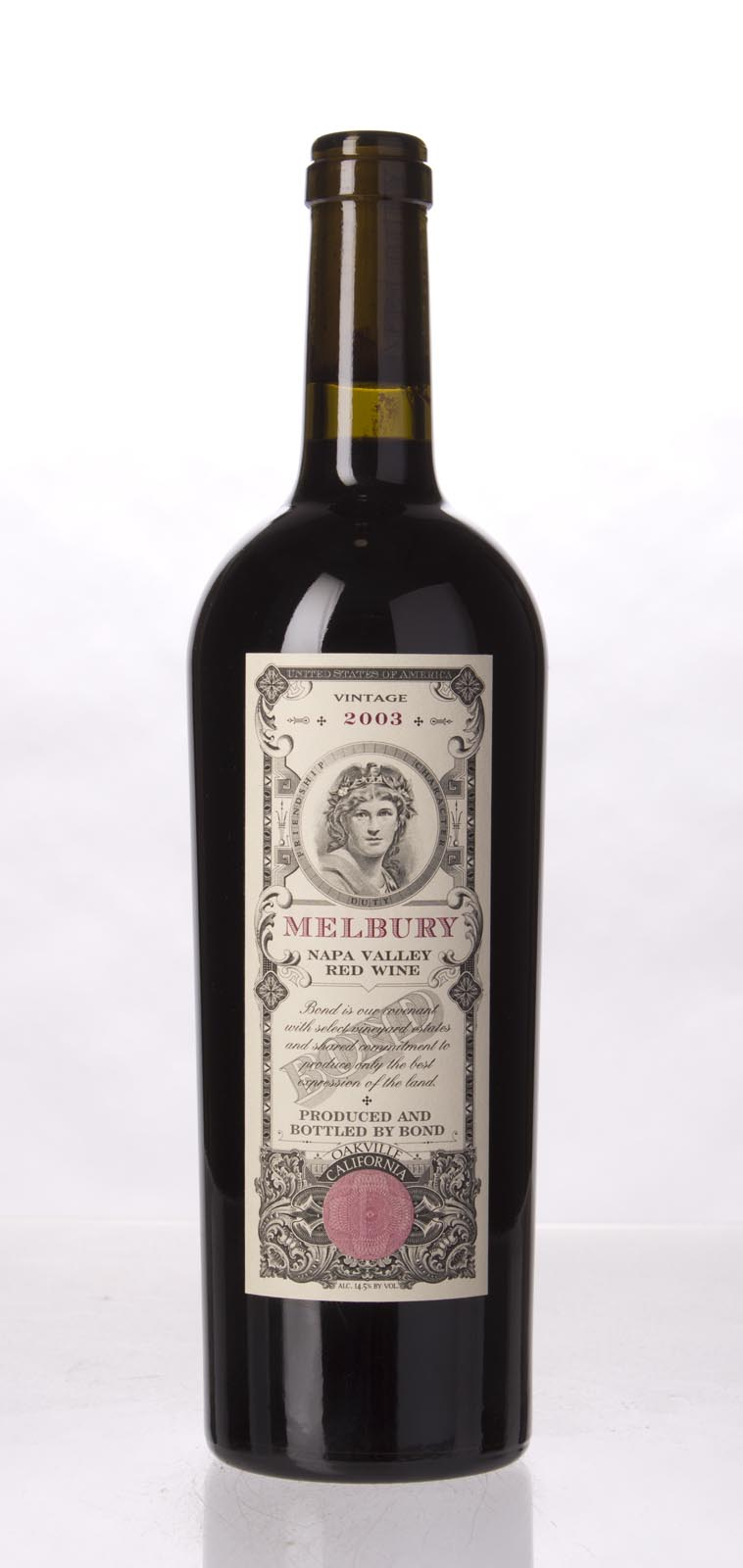 Bond Melbury 2003, 750mL (WA97) from The BPW - Merchants of rare and fine wines.