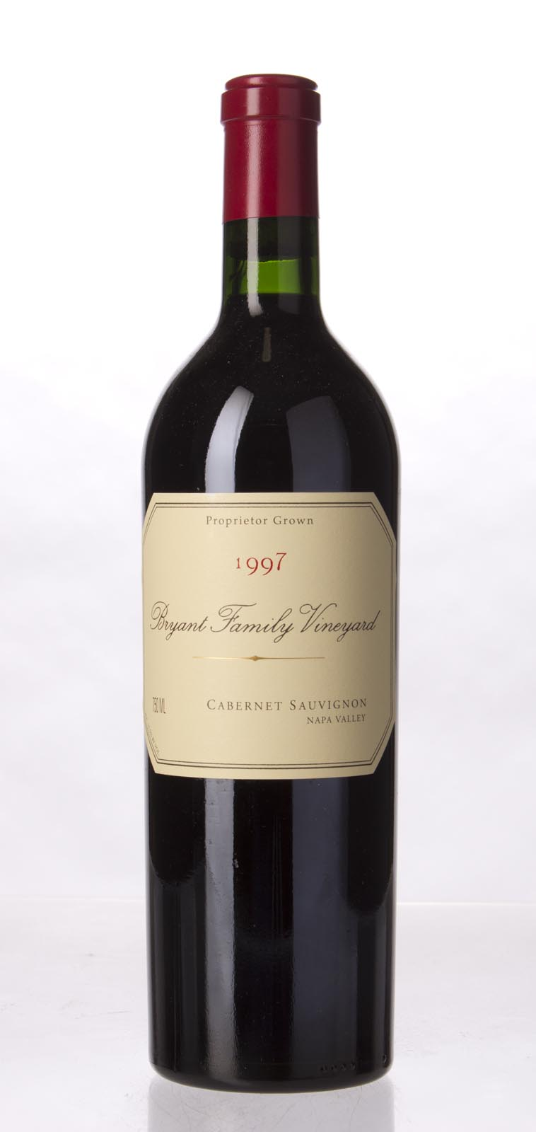 Bryant Family Vineyard Cabernet Sauvignon Pritchard Hill 1997,  (WA100, WS99) from The BPW - Merchants of rare and fine wines.