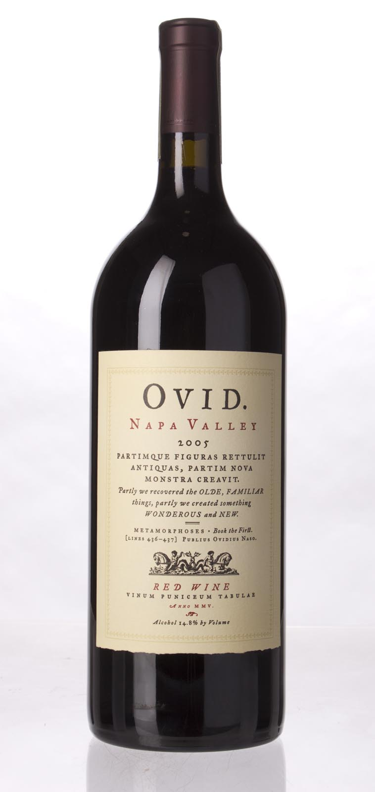 Ovid Winery Proprietary Red Napa Valley 2005, 1.5L (ST95, WS94) from The BPW - Merchants of rare and fine wines.
