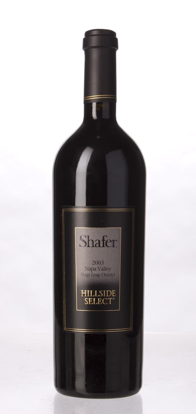 Shafer Cabernet Sauvignon Hillside Select 2003,  (WA100) from The BPW - Merchants of rare and fine wines.