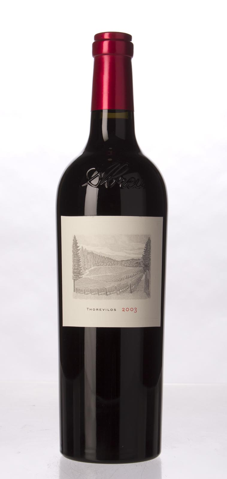 Abreu Cabernet Sauvignon Thorevilos 2003, 750mL (WA98) from The BPW - Merchants of rare and fine wines.