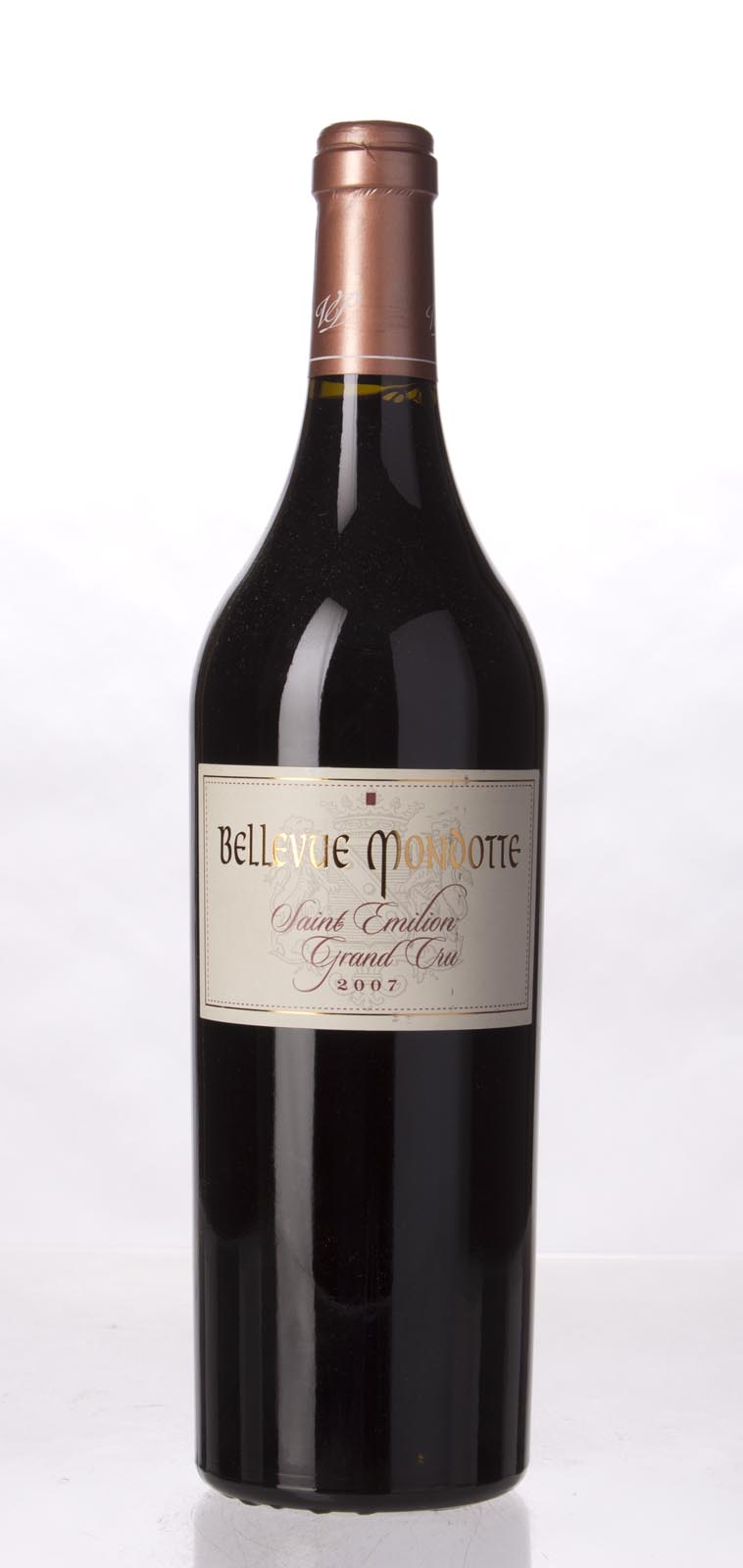 Bellevue Mondotte 2007, 750mL (WA94, ST93) from The BPW - Merchants of rare and fine wines.