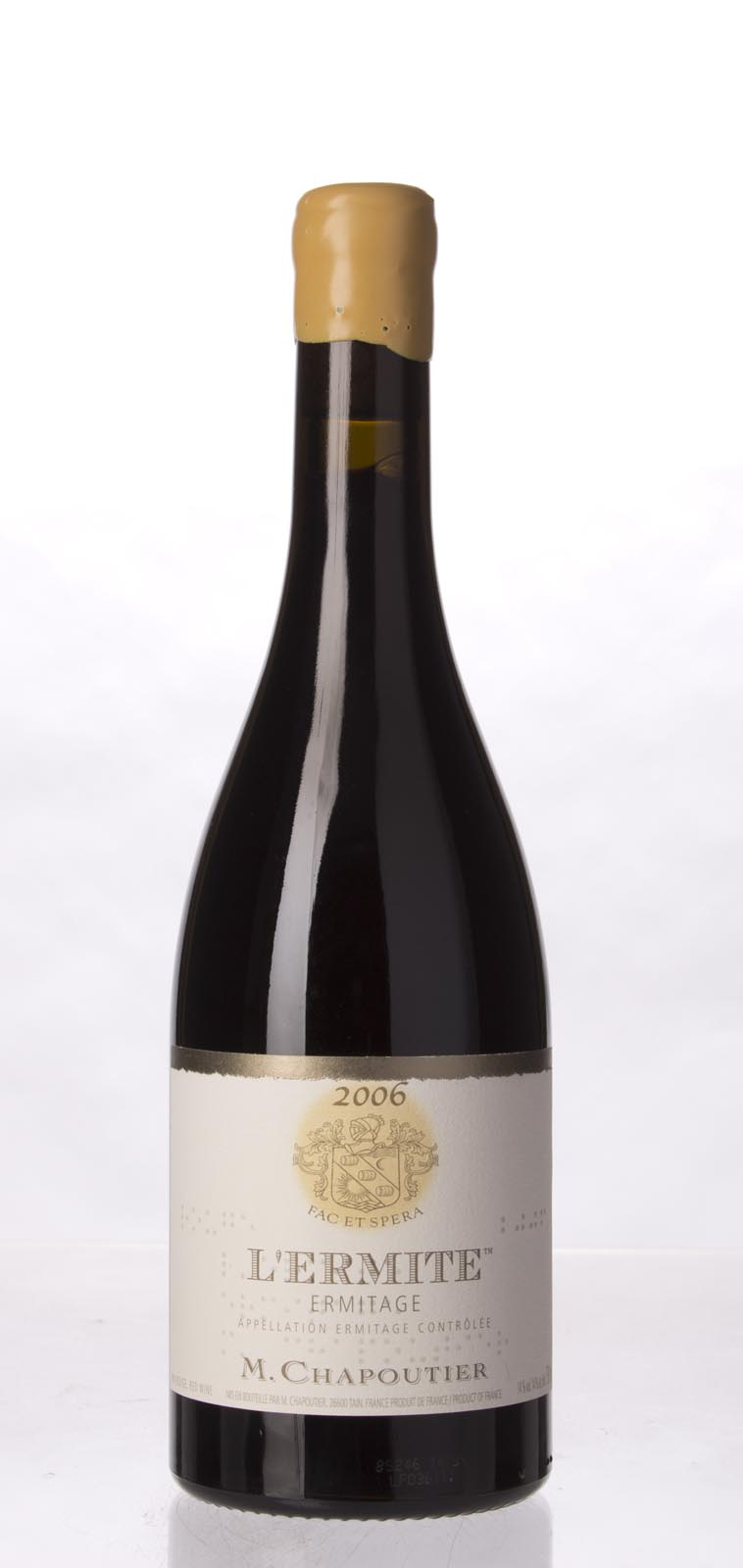 Chapoutier Ermitage l`Ermite 2006, 750mL (WA98+, WS97) from The BPW - Merchants of rare and fine wines.