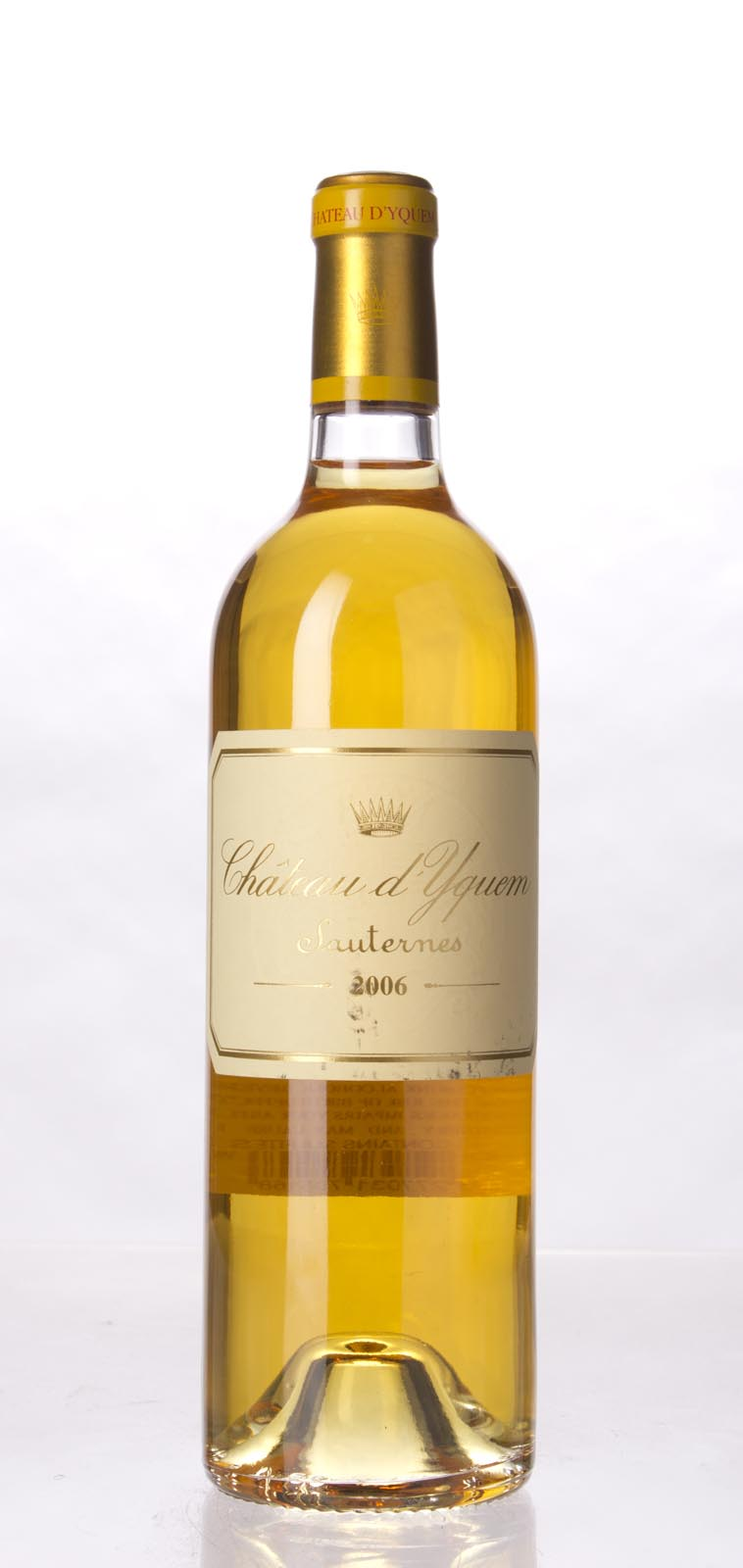 Chateau d`Yquem 2006, 750mL (WA96-98+, ST95) from The BPW - Merchants of rare and fine wines.