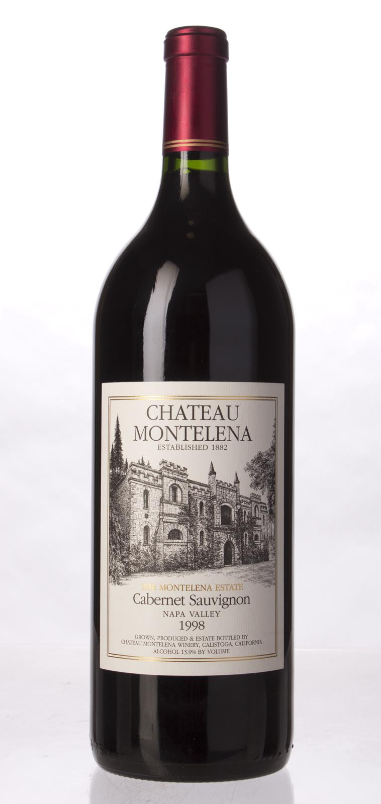 Chateau Montelena Cabernet Sauvignon Montelena Estate 1998, 1.5L (WA93) from The BPW - Merchants of rare and fine wines.