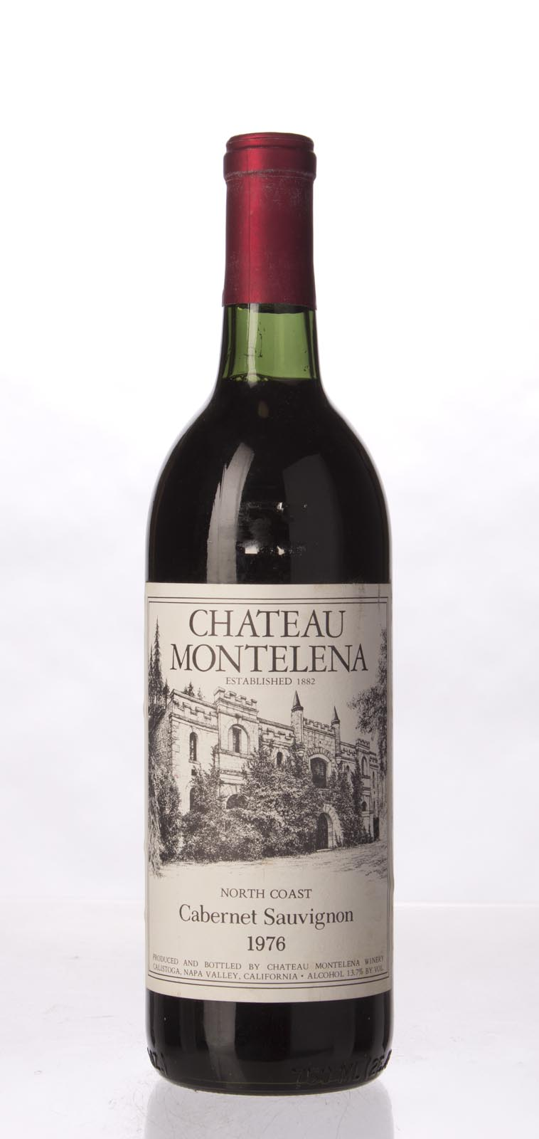 Chateau Montelena Cabernet Sauvignon North Coast 1976, 750mL (WA93) from The BPW - Merchants of rare and fine wines.