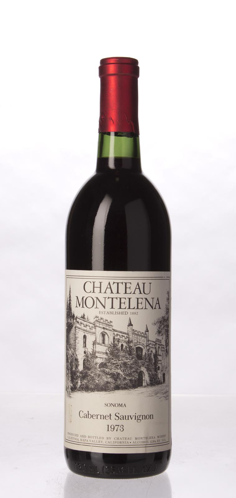 Chateau Montelena Cabernet Sauvignon Sonoma 1973, 750mL () from The BPW - Merchants of rare and fine wines.