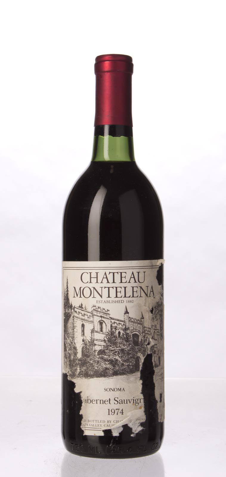 Chateau Montelena Cabernet Sauvignon Sonoma 1974, 750mL (WA91) from The BPW - Merchants of rare and fine wines.