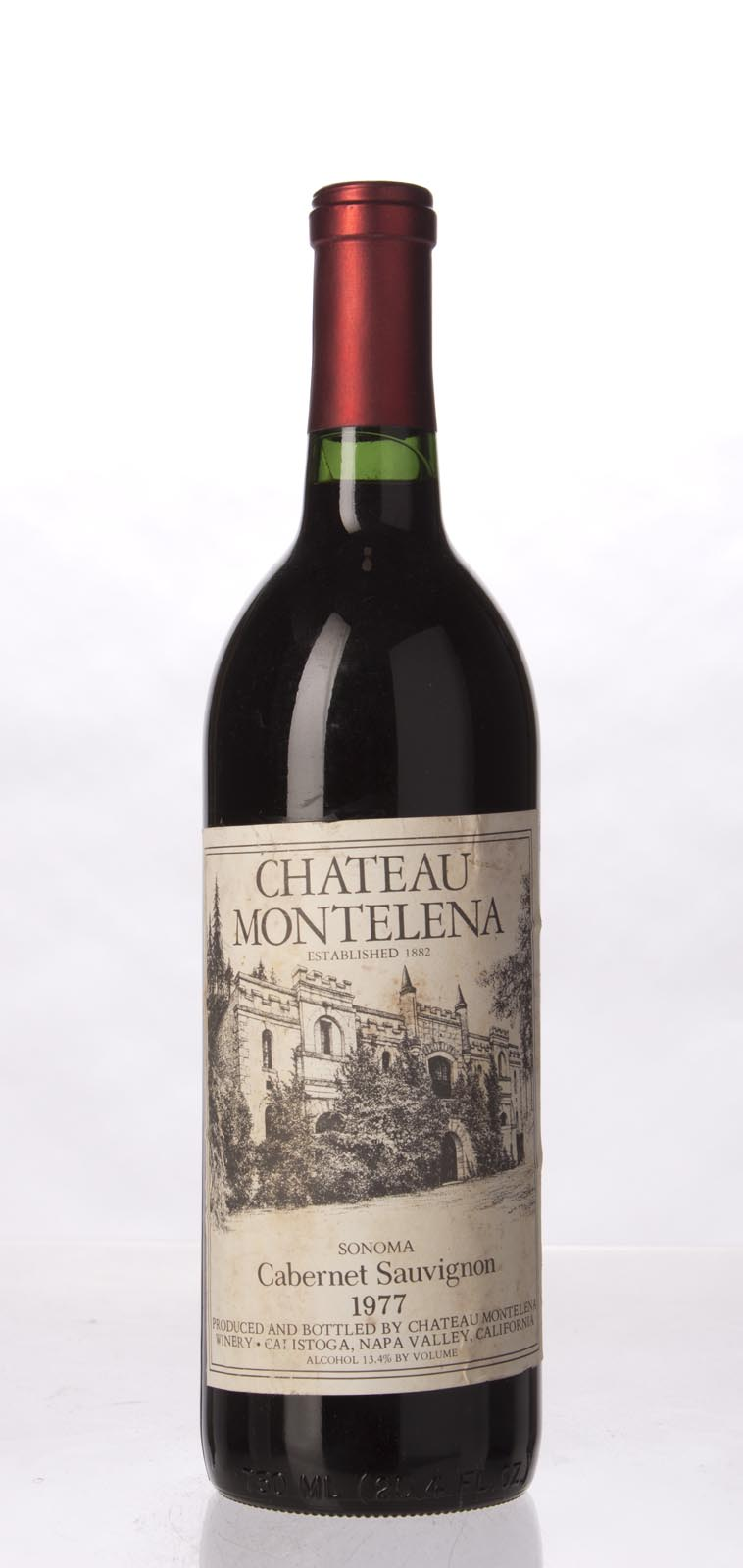 Chateau Montelena Cabernet Sauvignon Sonoma 1977, 750mL (WA91) from The BPW - Merchants of rare and fine wines.