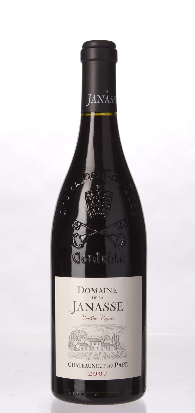 Domaine de la Janasse Chateauneuf du Pape Cuvee Vieilles Vignes 2007, 750mL (WA100) from The BPW - Merchants of rare and fine wines.