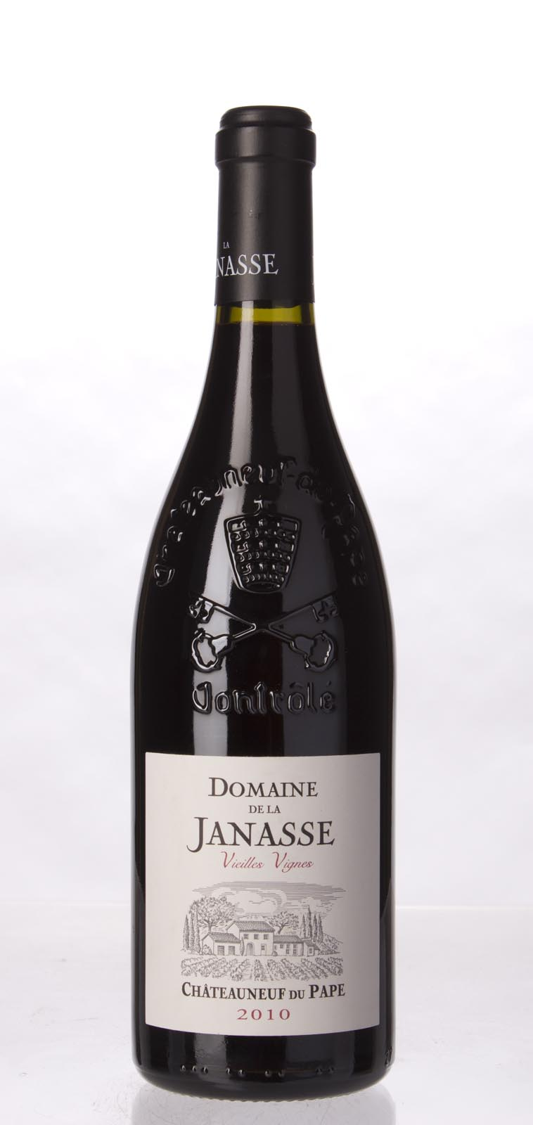Domaine de la Janasse Chateauneuf du Pape Cuvee Vieilles Vignes 2010, 750mL (WA100) from The BPW - Merchants of rare and fine wines.