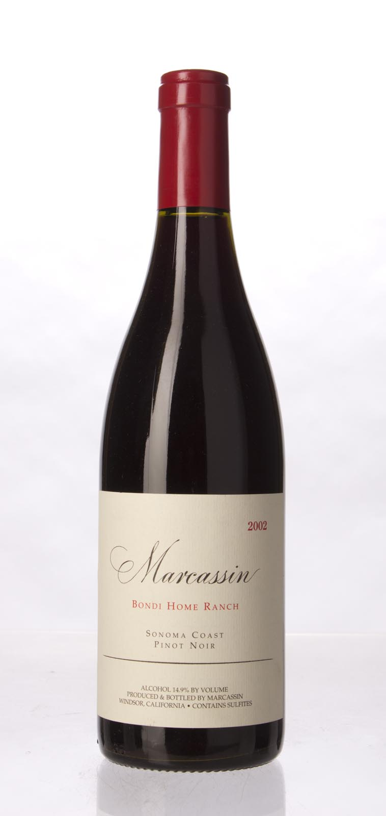 Marcassin Pinot Noir Bondi Home Ranch 2002, 750mL (WA94, ST94) from The BPW - Merchants of rare and fine wines.