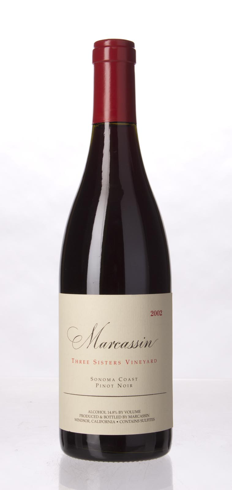 Marcassin Pinot Noir Three Sisters Vineyard 2002, 750mL (WA96, WS97) from The BPW - Merchants of rare and fine wines.