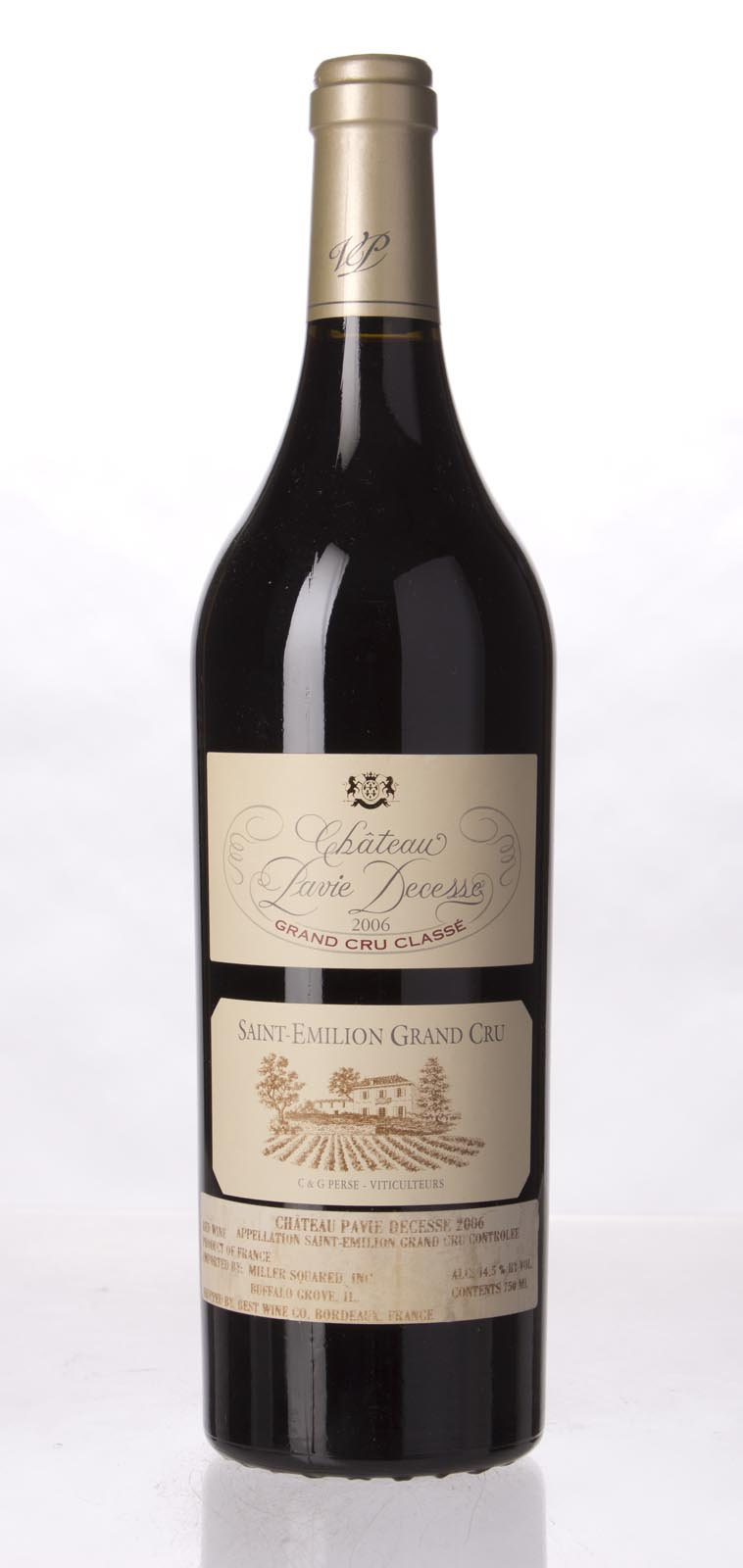 Pavie Decesse 2006, 750mL (WA94+, ST93) from The BPW - Merchants of rare and fine wines.