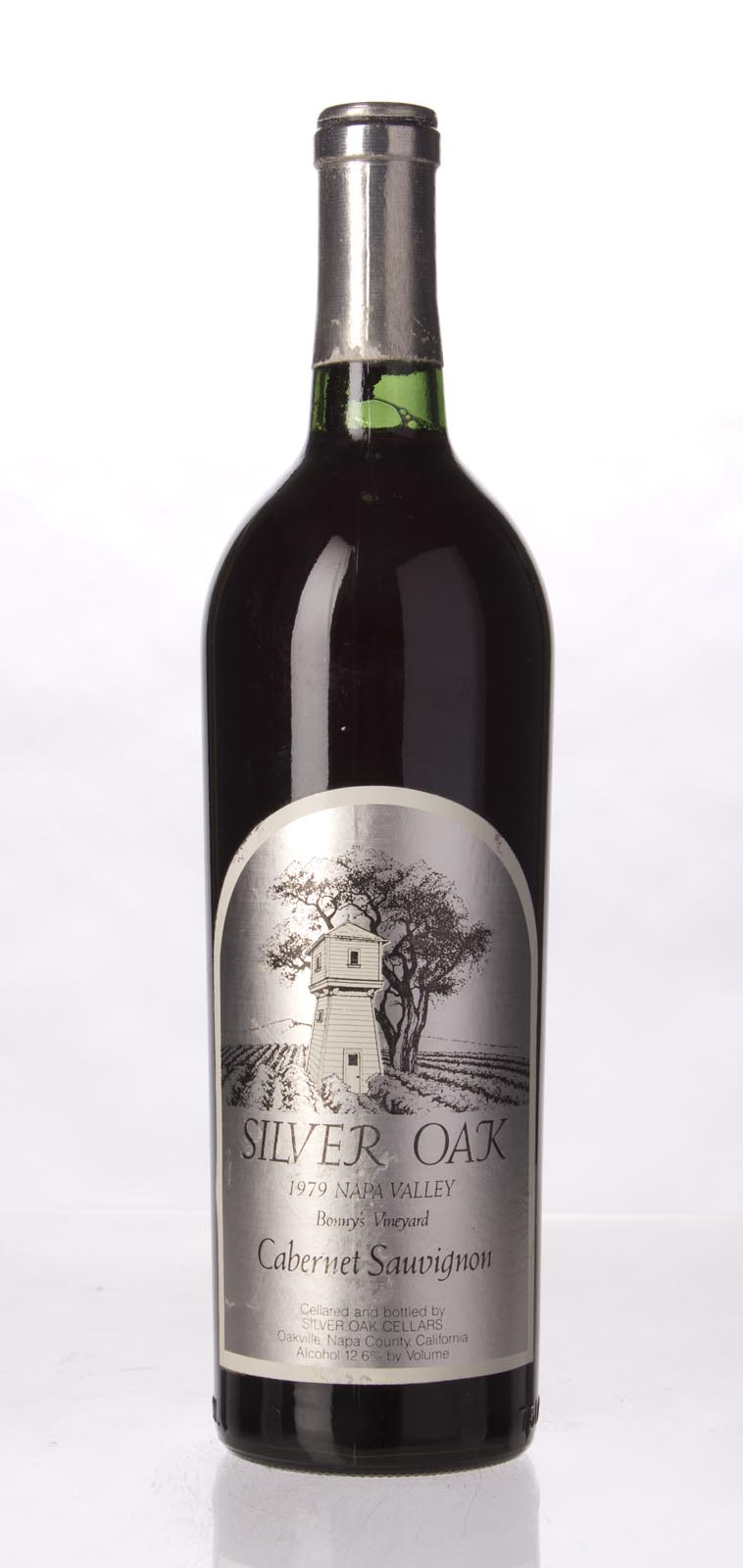 Silver Oak Cabernet Sauvignon Bonny`s Vineyard 1979, 750mL () from The BPW - Merchants of rare and fine wines.