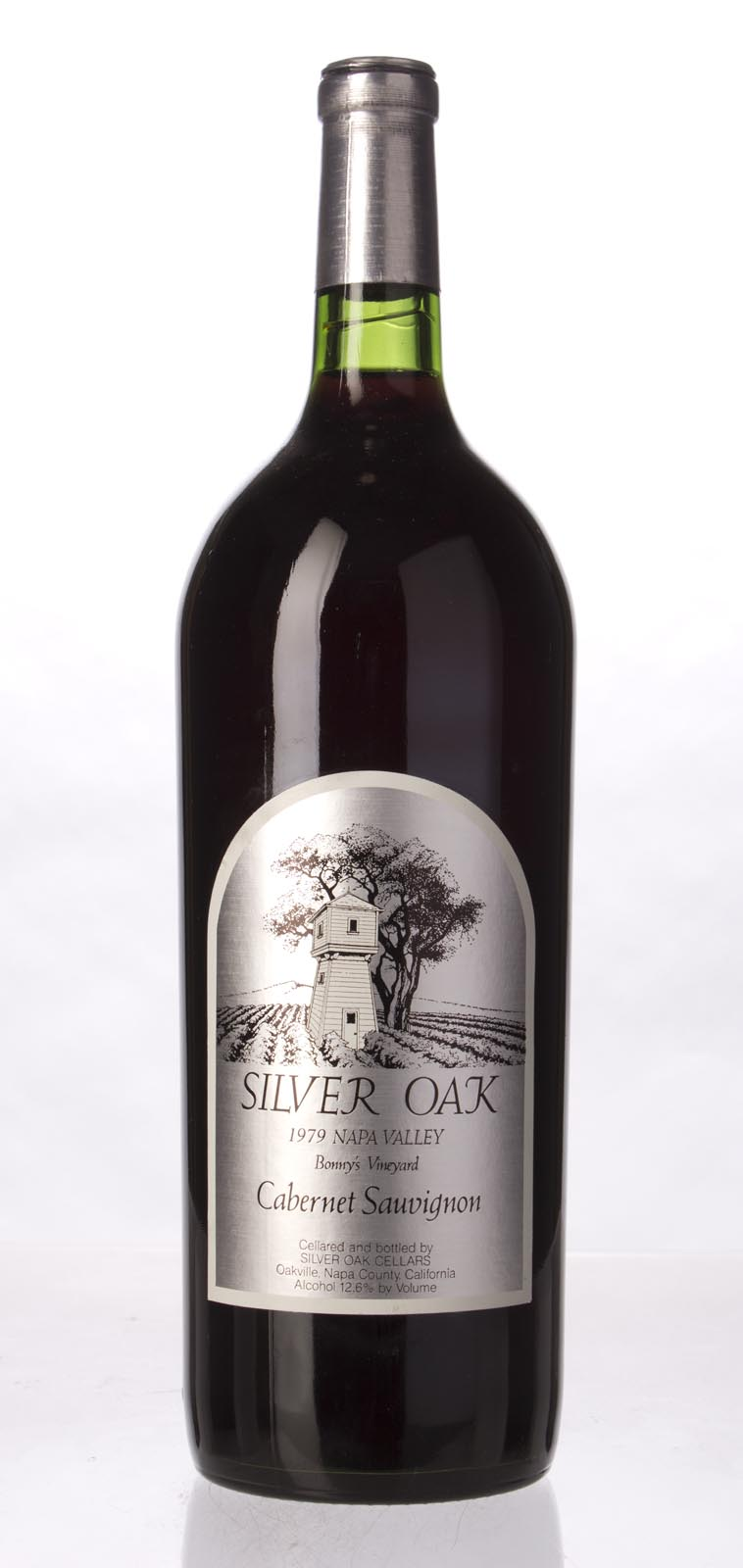 Silver Oak Cabernet Sauvignon Bonny`s Vineyard 1979, 1.5L () from The BPW - Merchants of rare and fine wines.