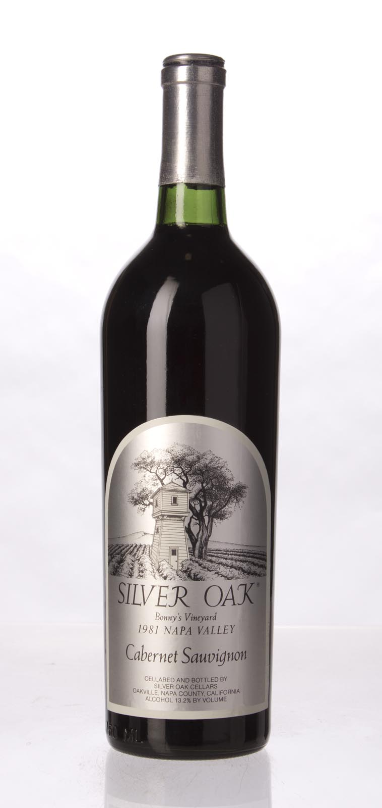 Silver Oak Cabernet Sauvignon Bonny`s Vineyard 1981, 750mL () from The BPW - Merchants of rare and fine wines.