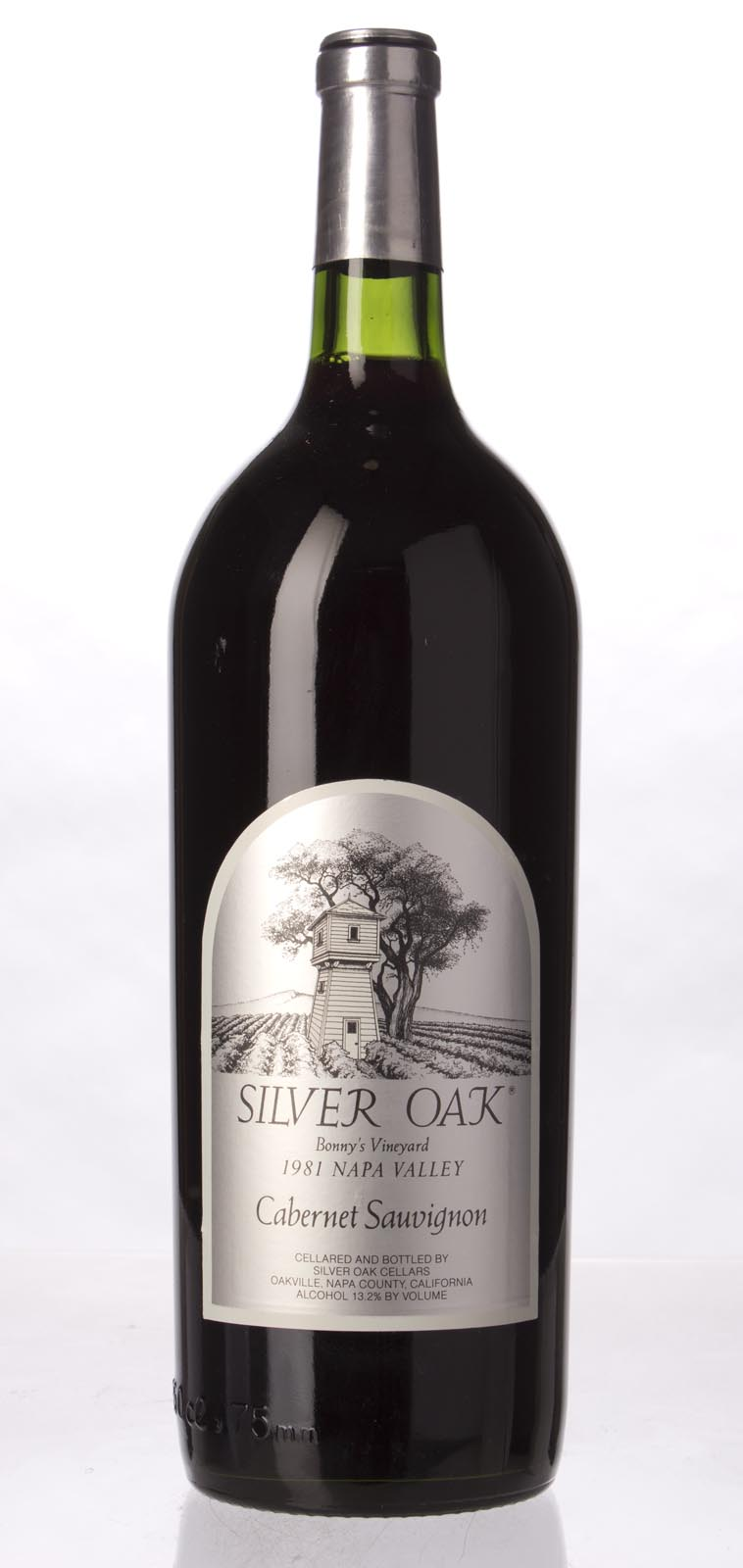 Silver Oak Cabernet Sauvignon Bonny`s Vineyard 1981, 1.5L () from The BPW - Merchants of rare and fine wines.