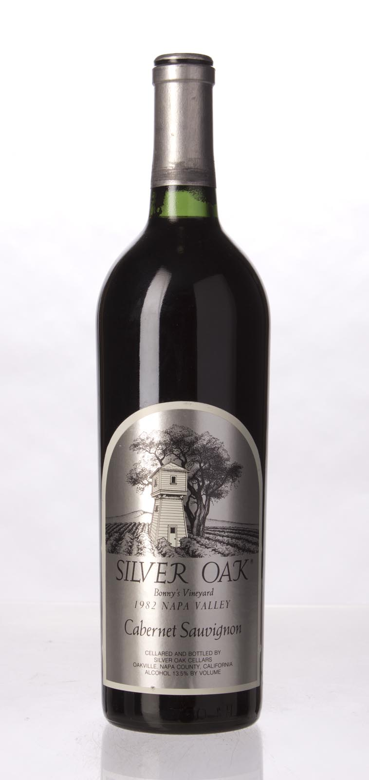 Silver Oak Cabernet Sauvignon Bonny`s Vineyard 1982, 750mL () from The BPW - Merchants of rare and fine wines.