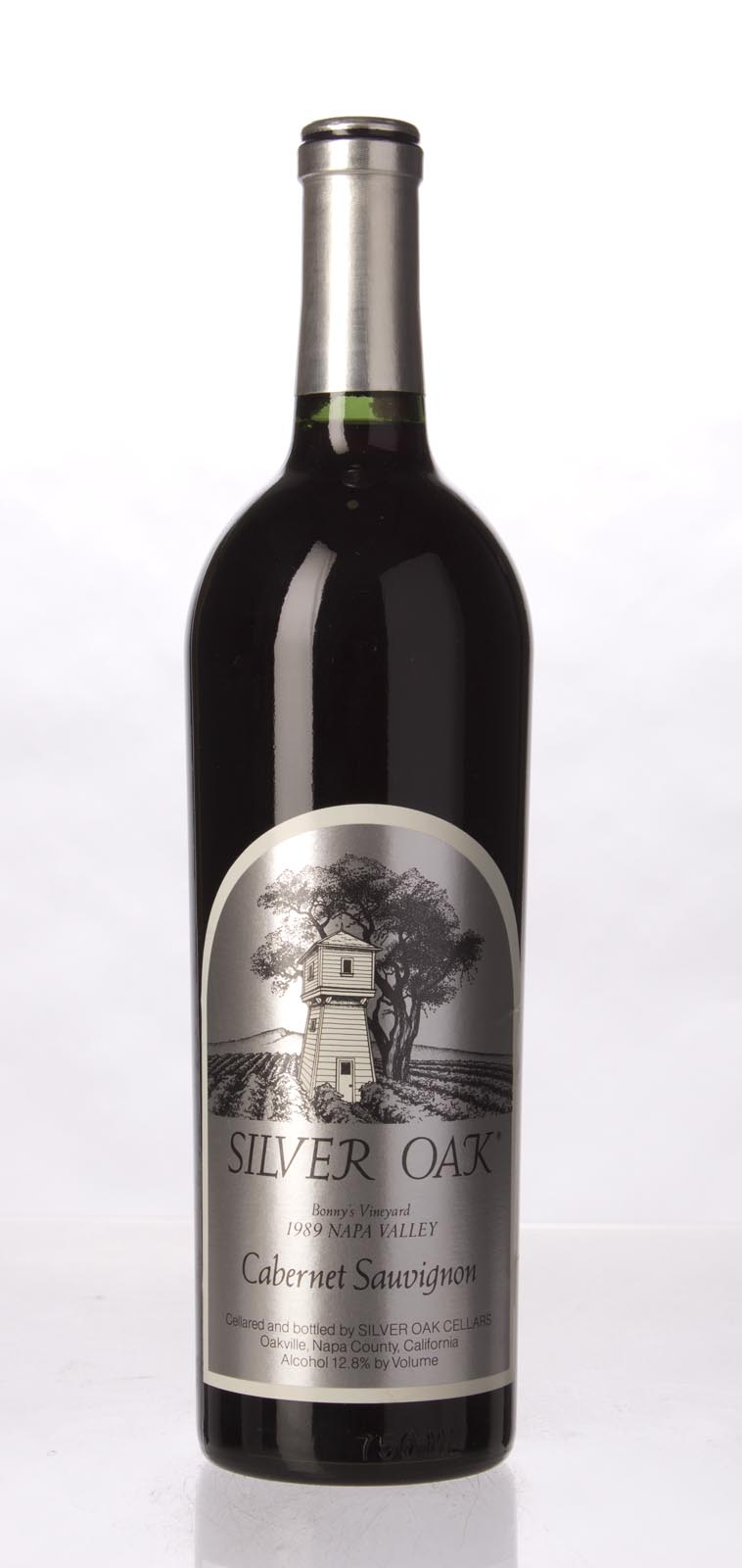 Silver Oak Cabernet Sauvignon Bonny`s Vineyard 1989, 750mL () from The BPW - Merchants of rare and fine wines.