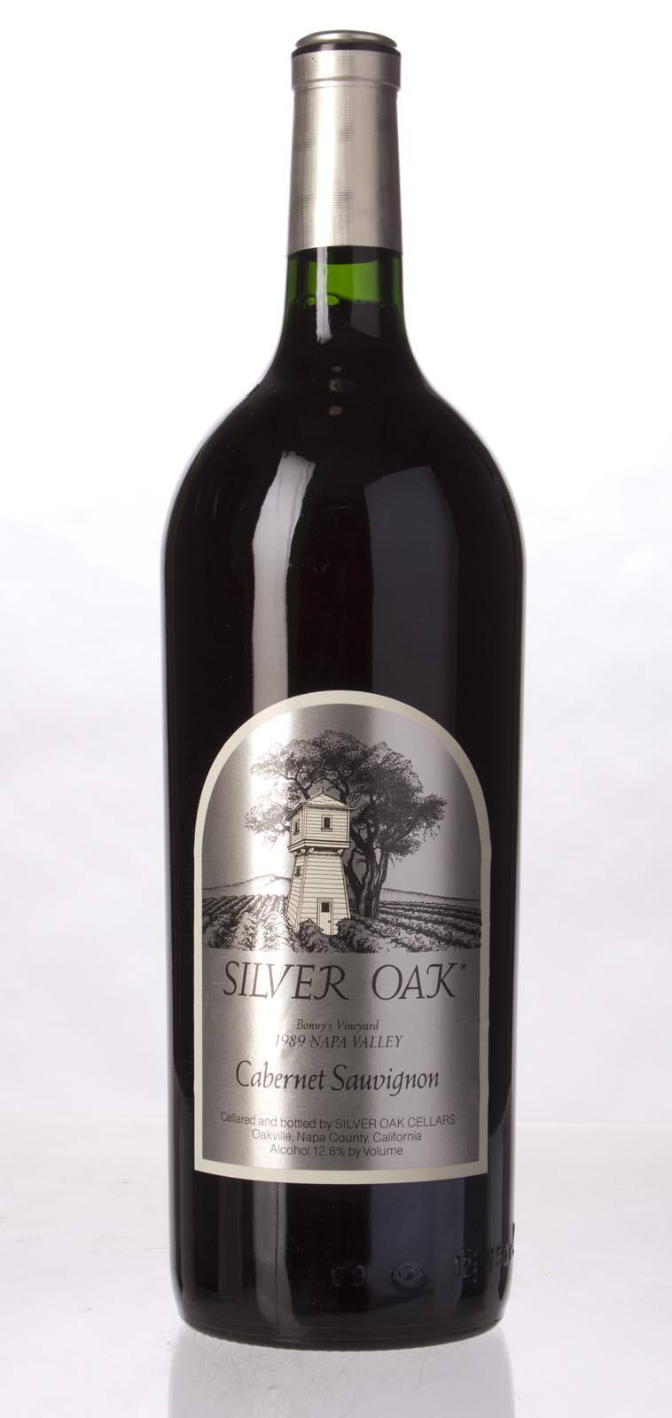 Silver Oak Cabernet Sauvignon Bonny`s Vineyard 1989, 1.5L () from The BPW - Merchants of rare and fine wines.