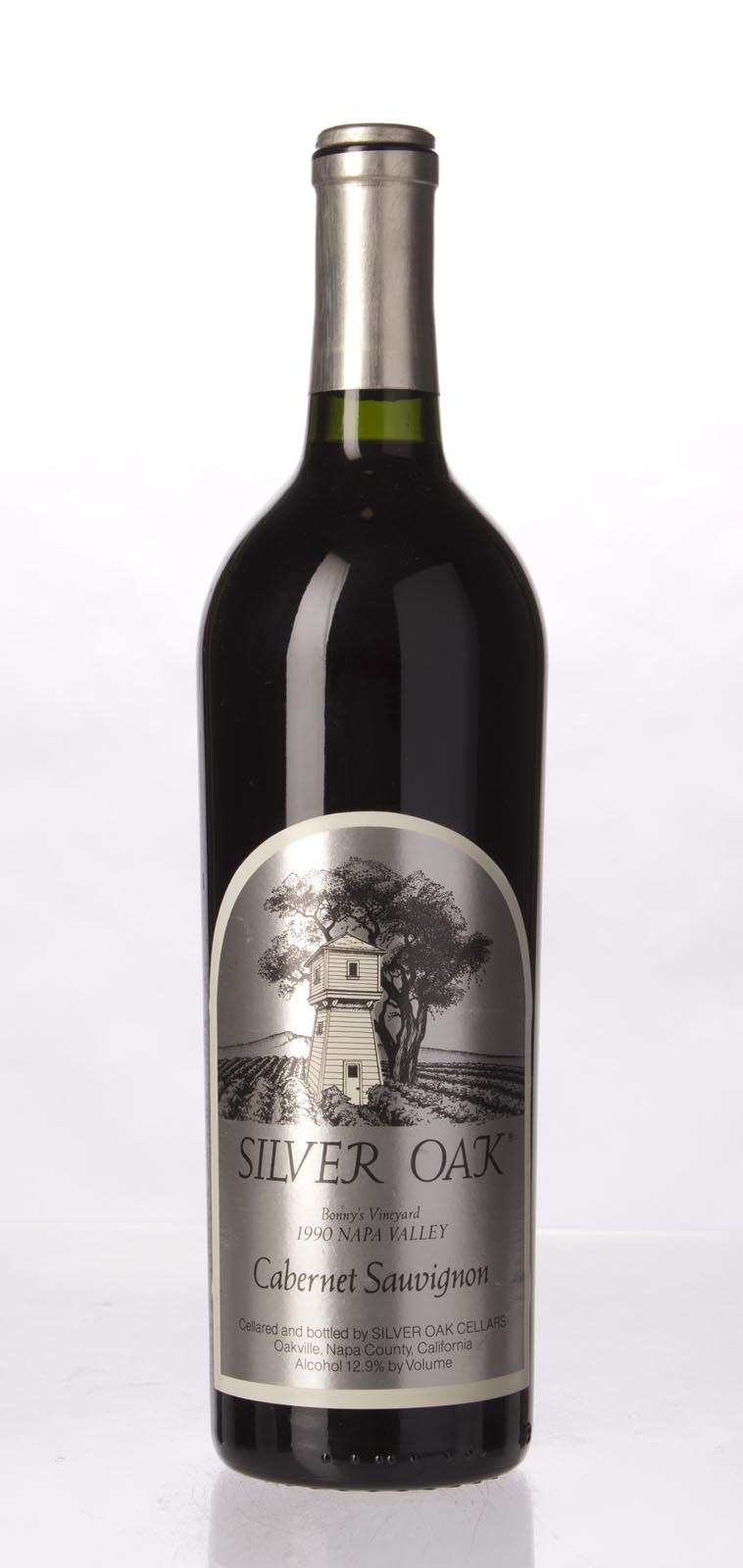Silver Oak Cabernet Sauvignon Bonny`s Vineyard 1990, 750mL (WA94) from The BPW - Merchants of rare and fine wines.