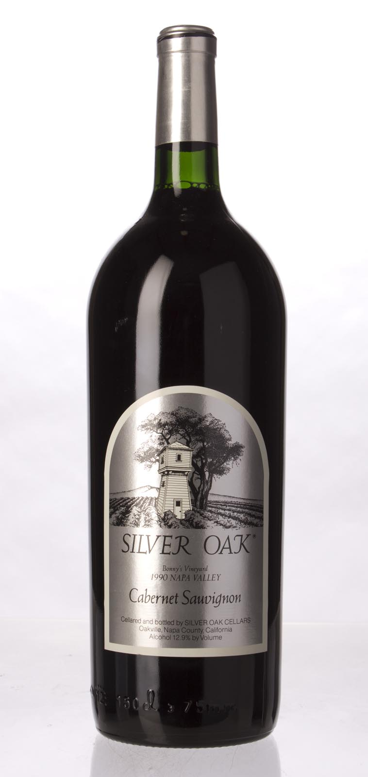 Silver Oak Cabernet Sauvignon Bonny`s Vineyard 1990, 1.5L (WA94) from The BPW - Merchants of rare and fine wines.