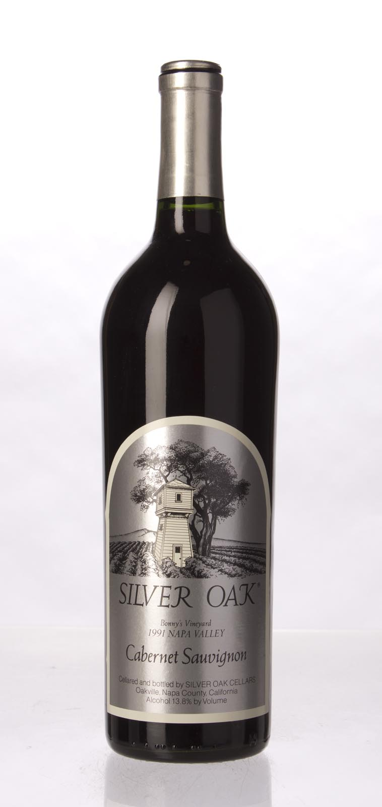 Silver Oak Cabernet Sauvignon Bonny`s Vineyard 1991, 750mL (WS93) from The BPW - Merchants of rare and fine wines.