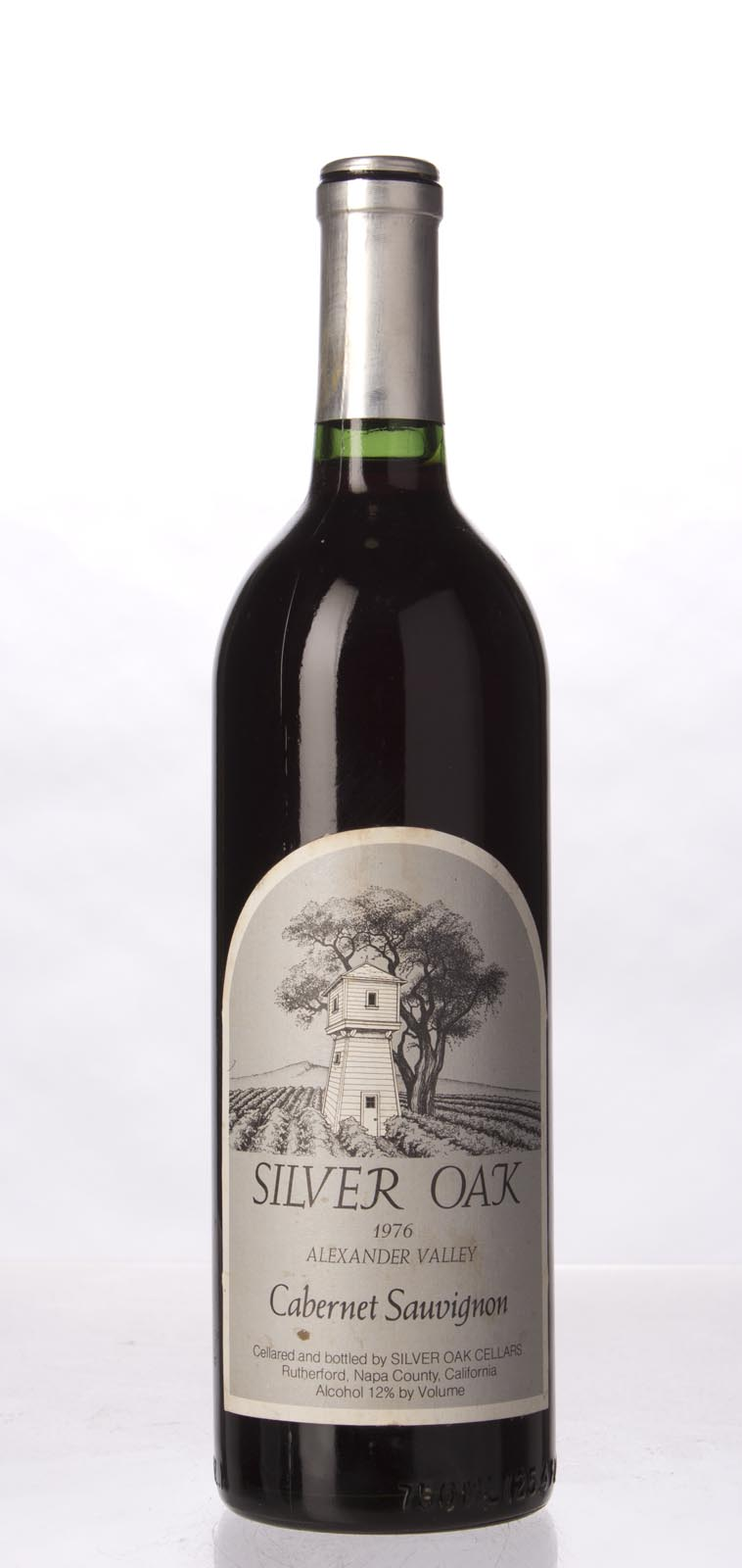 Silver Oak Cabernet Sauvignon Alexander Valley 1976, 750mL () from The BPW - Merchants of rare and fine wines.