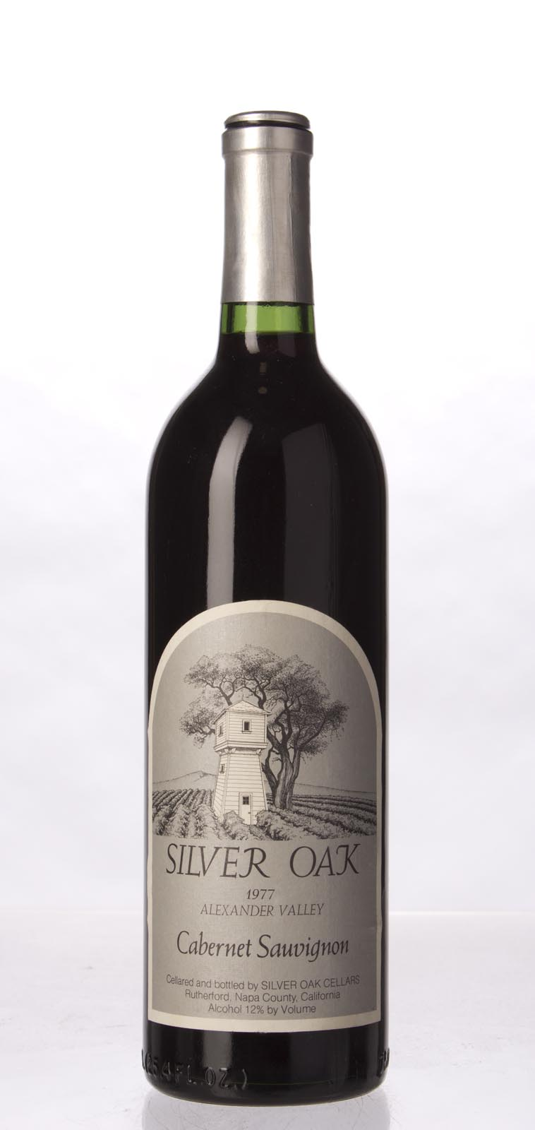 Silver Oak Cabernet Sauvignon Alexander Valley 1977, 750mL () from The BPW - Merchants of rare and fine wines.