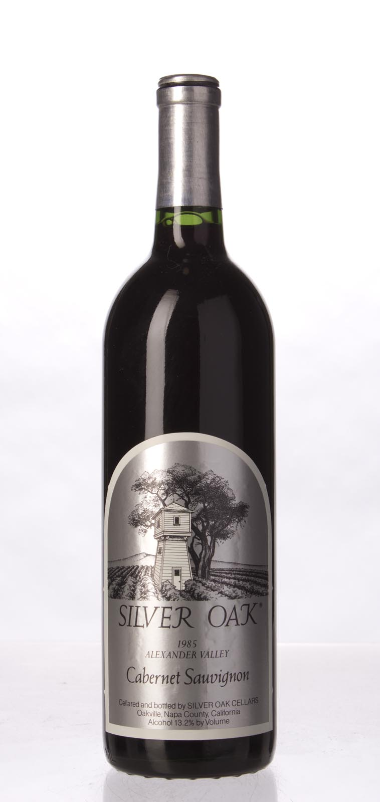 Silver Oak Cabernet Sauvignon Alexander Valley 1985, 750mL (WA92) from The BPW - Merchants of rare and fine wines.